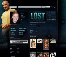 Cool Lost Profile Layout - Locke Layout - Terry O'Quinn Background