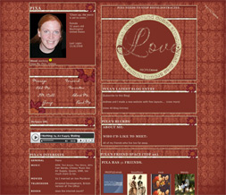Love Quote Layout - Quote Myspace Theme - Love Layout