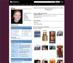 Plain Maroon Default Myspace Layout - Solid Purple Default Layout