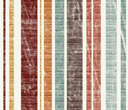 Multicolor Stripes Myspace Layout - Colorful Stripes Layout