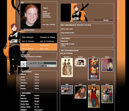 Naruto Gaara Myspace Layout-Gaara Theme-Naruto Layout-Gaara Background