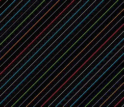 Neon Stripes Twitter Background - Neon Theme for Twitter