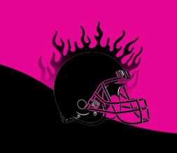 Free Black & Pink Football Layout - Cute Girly Football Theme for Myspace