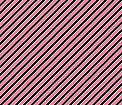 Pink, Black & White Default Layout  - Black & Pink Striped Theme