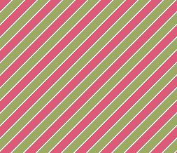 Green & Pink Stripes Layout - Pink & Green Theme with Stripes