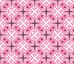 Pink & White Pattern Theme - Unique Pink Layout for Myspace