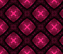Black & Hot Pink Pattern Layout - Hot Pink & Black Myspace Theme