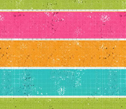 Orange & Pink Stripes Default Layout - Pink & Blue Striped Default Myspace Theme