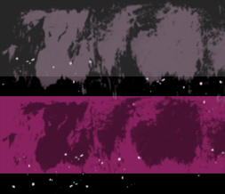 Pink & Black Splatter Layout- Purple Default Grunge Theme