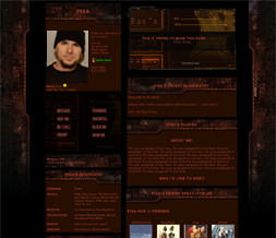 Starcraft 2 Myspace Theme-Game Theme - Guy Layout - Gaming Layout