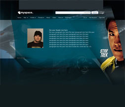 Star Trek Sulu Hide Everything Layout - New Star Trek Movie Theme with Sulu