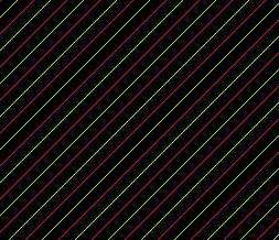 Green & Pink Neon Stripes Default Layout - Neon Pink & Green Stripes Theme