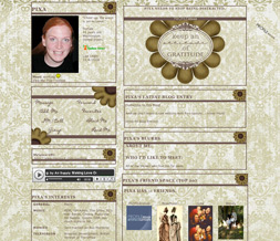Thanksgiving Quote Layout - Thanksgiving Myspace Layout