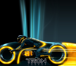 Tron Legacy Myspace Layout - New Tron Movie Theme for Myspace