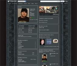 Skinny Warhammer Online Layout - WarHammer Designs - Warhammer Theme
