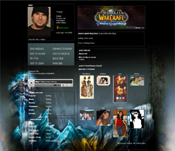 Wrath of the Lich King Background - WOW Myspace Theme - WOW Layout