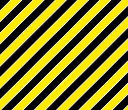Black & Yellow Diagnol Stripe Layout - Yellow & Black Myspace Theme