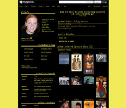 Yellow Default Layout w/ Black Middle - Yellow Default Layout with Black Tables