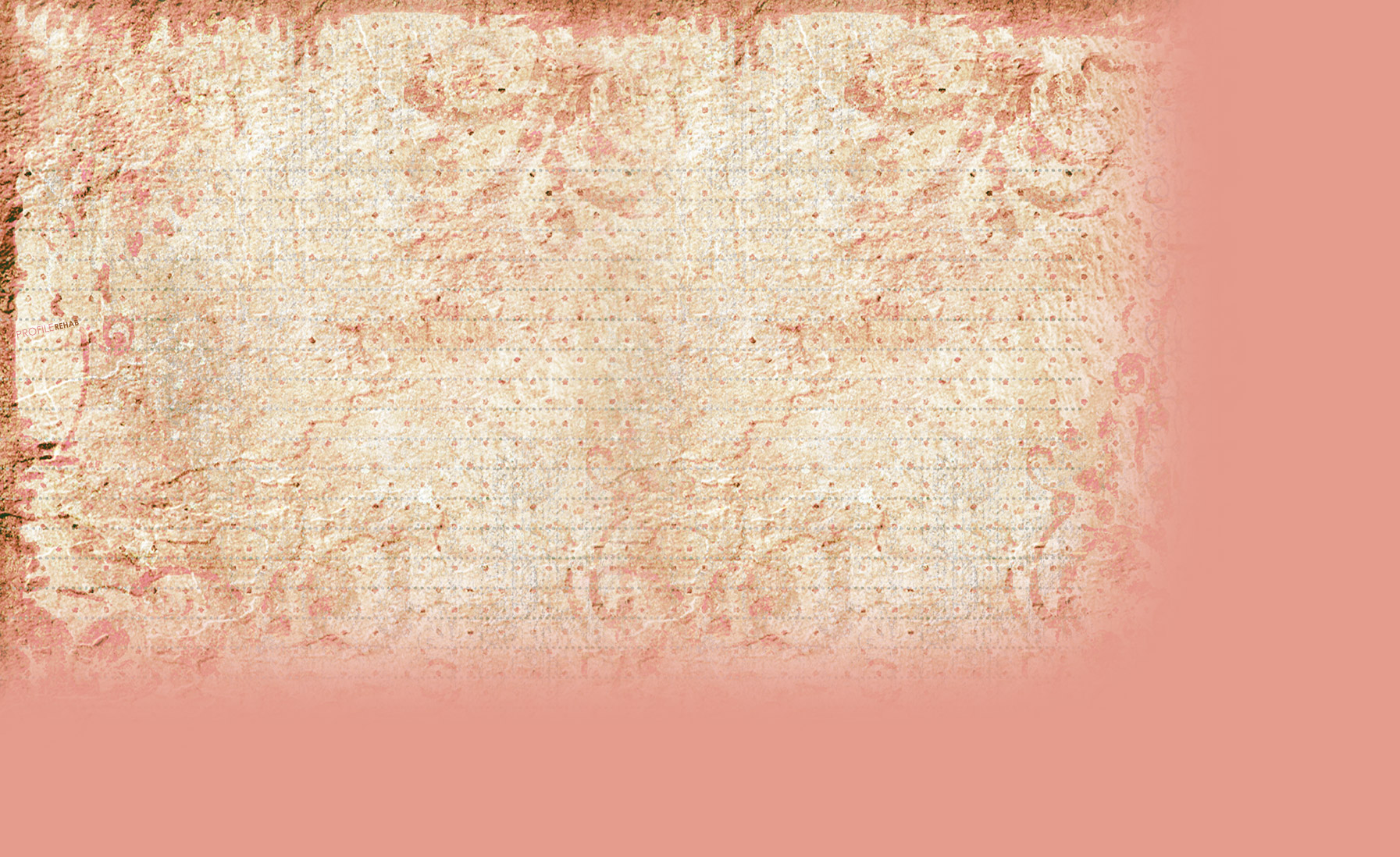 Pink Vintage Paper Myspace Layout