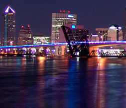 Florida Skyline Twitter Background - Jacksonville Skline Background for Twitter