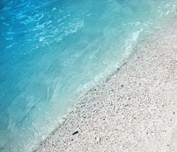 Cool Beach Twitter Background - Ocean Sand Twitter Theme Preview