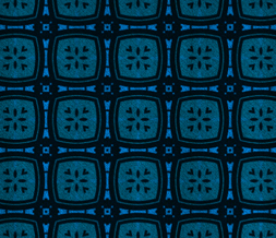 Blue & Black Pattern Twitter Background