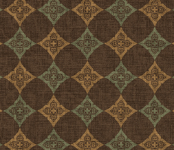 Brown & Blue Vintage Pattern Twitter Background
