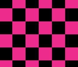 Pink & Black Checkered Twitter Background - Black & Pink Design for Twitter