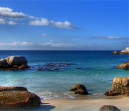 Cape Town Beach Twitter Background - South African Ocean Twitter Theme