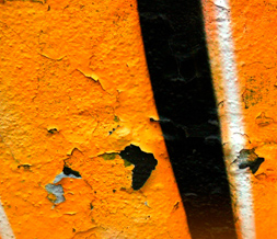 Cool Graffiti Twitter Background - Orange Graffiti Design for Twitter