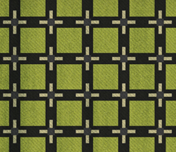 Green & Black Squares Pattern Twitter Background