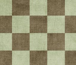 Brown & Green Checkers Twitter Background