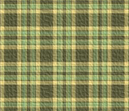 Green & Yellow Plaid Default Layout - Plaid Design for Myspace
