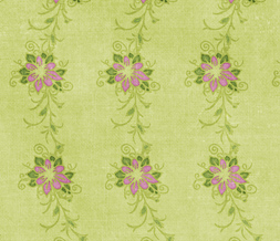 Pink & Green Vintage Twitter Background - Vintage Pattern Layout for Twitter
