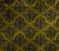Green Vintage Pattern Twitter Background