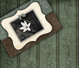 Free Vintage Twitter Background - Green Vintage Theme for Twitter Preview