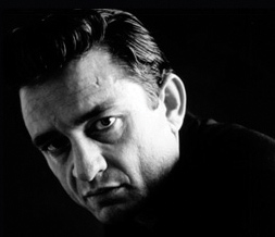 Black & White Johnny Cash Twitter Background - Johnny Cash Background for Twitter