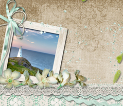 Pretty Lighthouse Twitter Background - Scenic Design for Twitter