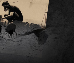 Gray Linkin Park Twitter Background - Cool Linkin Park Background for Twitter