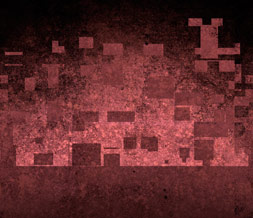 Cool Nine Inch Nails Default Layout - Red Abstract Theme for Myspace