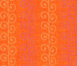 Purple & Orange Swirly Twitter Background