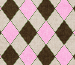Pink & Brown Diamonds Twitter Background