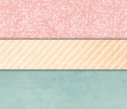 Free Pink & Blue Vintage Twitter Background - Cute Vintage Stripes Theme for Twitter