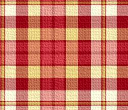 Tiling Red & Yellow Checkered Twitter Background-Checkers Theme for Twitter