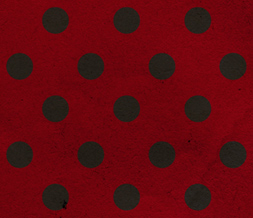Free Red & Black Polkadots Twitter Background -  Polkadotted Theme for Twitter