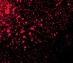 Free Black & Red Paint Splatter - Red Splatter Theme for Twitter