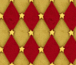 Tiling Red & Yellow Stars Twitter Background-Star Background for Twitter