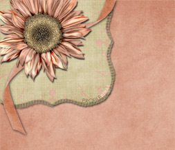 Pink Sunflower Twitter Background - Pretty Sunflower Theme for Twitter