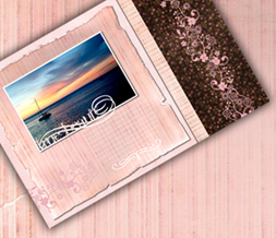 True Beauty Scenic Twitter Background - Pink Scenic Theme for Twitter
