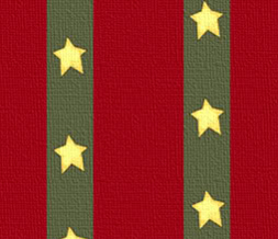 Tiling Stars Background for Twitter - Red & Green Stars Twitter Theme
